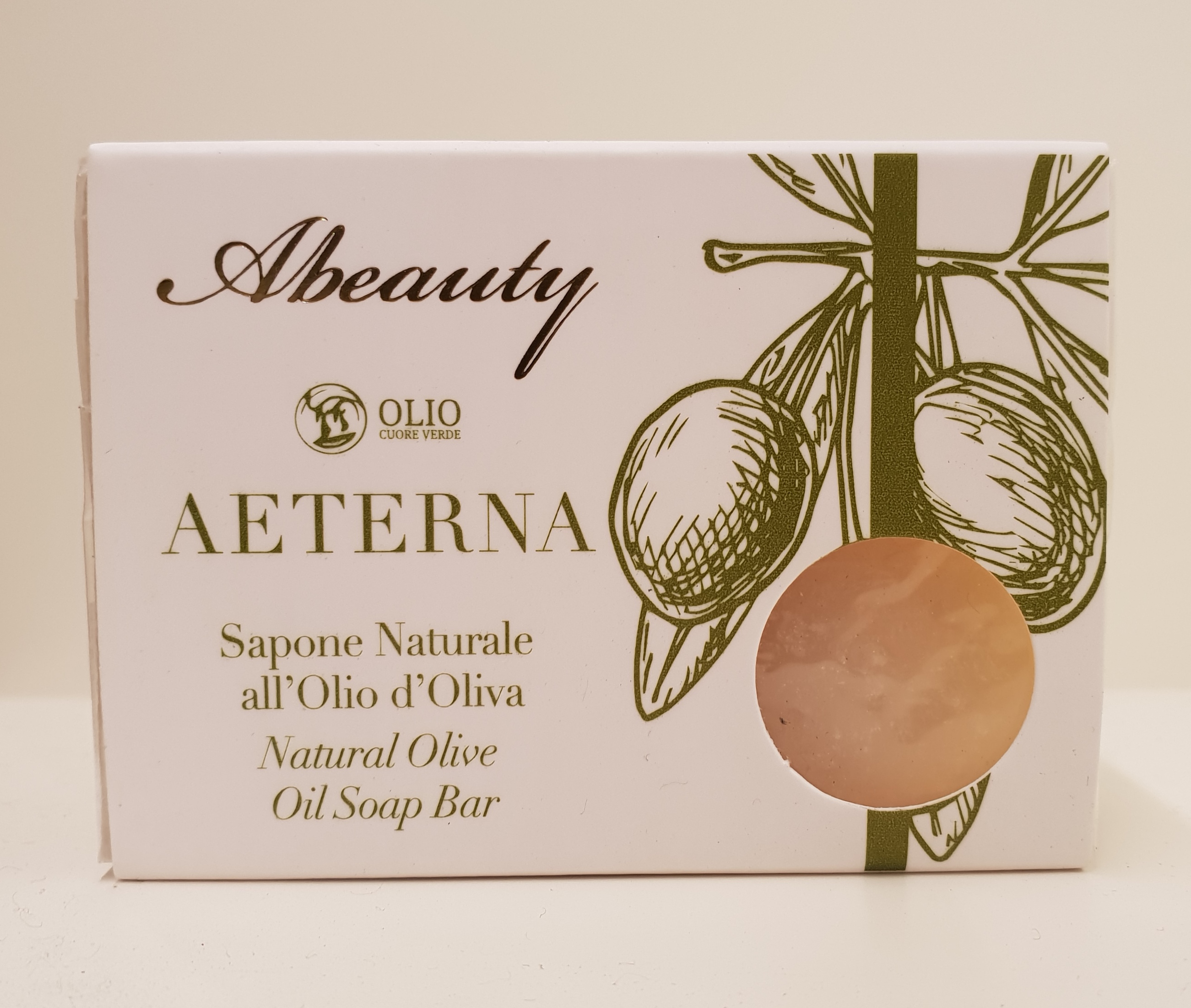 Natural soap made with extra virgin olive oil 100g